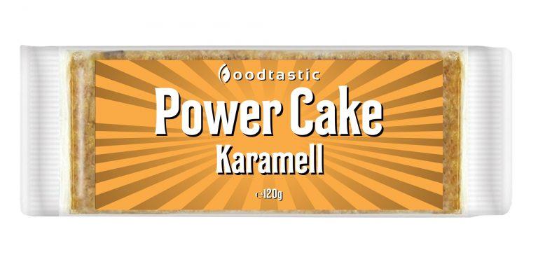 Power Cake Karamell