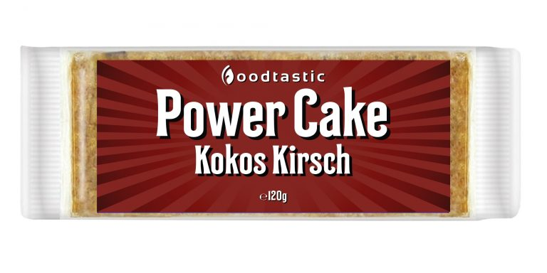 Power Cake Kokos Kirsch