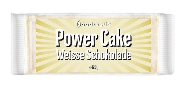 Power Cake Weisse Schokolade
